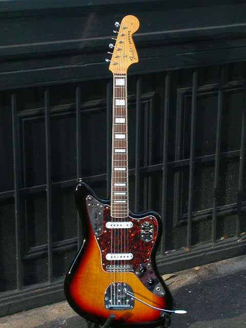 ~SOLD~Fender Japan '66 Block Inlay Jaguar
