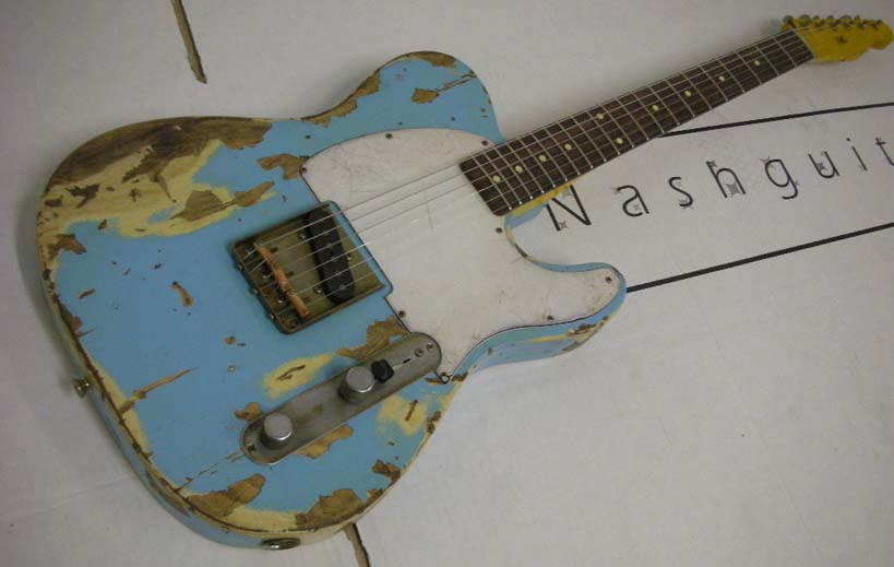 ~SOLD~Nash Guitars U.S.A. E-63 Esquier Type