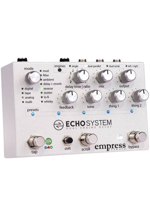 Empress Effects Echosystem Delay