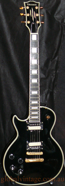 Edwards E.S.P. Les Paul Custom type -LEFT HANDED
