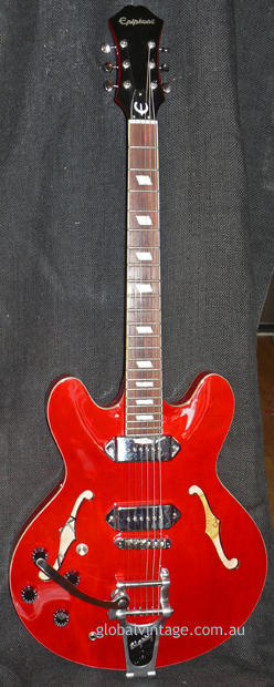 ~SOLD~Epiphone Korea Casino - Left Handed w/ Bigsby B7