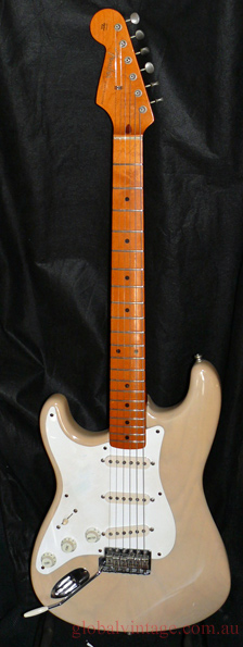 ~SOLD~Fender U.S.A. `57 Strat Reissue LEFT HANDED