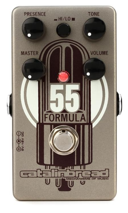 Catalinbread Formula 55 - Tweed 5E3 Voiced Overdrive