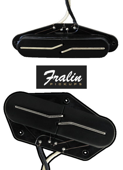 Lindy Fralin Split Blade Telecaster set
