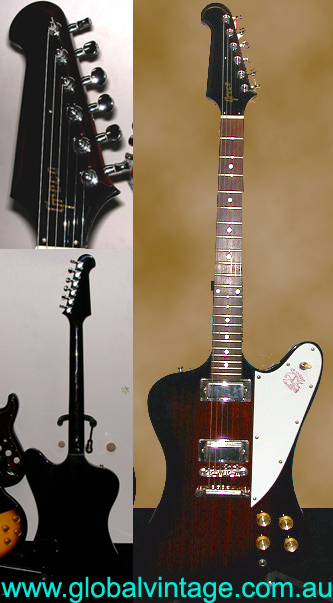 ~SOLD~Greco Transition Period Firebird circa 1975
