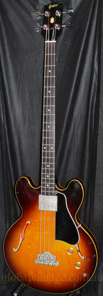 ~SOLD~Greco Japan `85 EB-2 type Semi Acoustic Bass