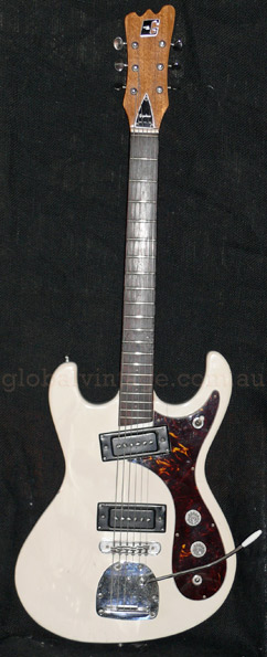 ~SOLD~Guyatone japan '60's LG-127T Mosrite type