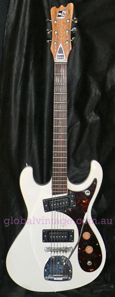 ~SOLD~Guyatone Japan `60's Mosrite type