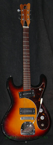 ~SOLD~Guyatone Japan LG-127T Mosrite type