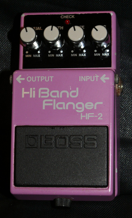 BOSS Japan `88 HF-2 Hi Band Flanger