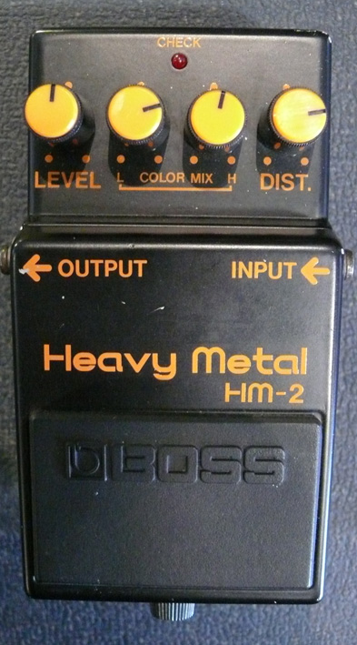 BOSS Japan `84 Heavy Metal HM-2