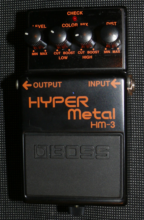 ~SOLD~BOSS Taiwan HM-3 Hyper Metal