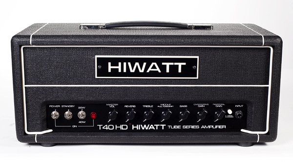 HiWatt T-40 40 watt head