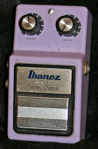 Ibanez Japan CS-9 Stereo Chorus - Maxon production