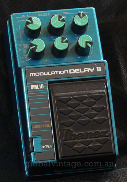 ~SOLD~Ibanez 10 Series DML-10 Modulation Delay II
