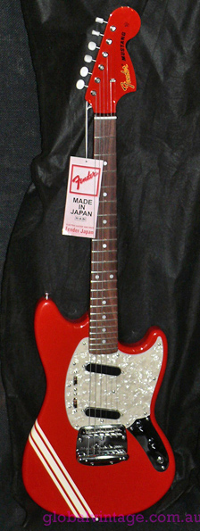Fender Jaoan JD series `73 Competition Series Fiesta Red Mustang