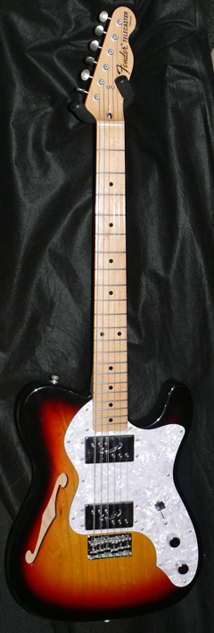 Fender Japan JD14 `72 Telecaster Thinline Reissue