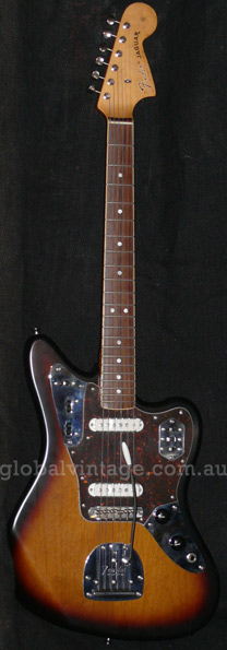 "~SOLD~Fender Japan C.I.J. ""R"" series Limited Ed `65 Jaguar Reiss"