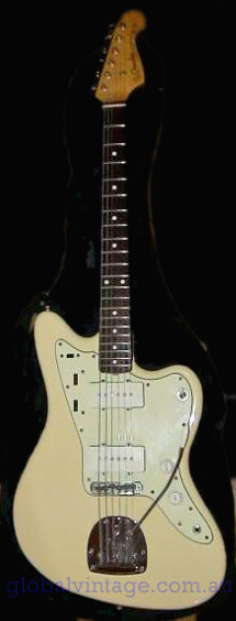 "~SOLD~Fender Japan C.I.J. ""R"" series Jazzmaster Reissue JM66VWH"