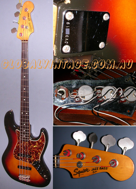 "~SOLD~Fender Japan ""JV"" series Squier Jazz Bass"
