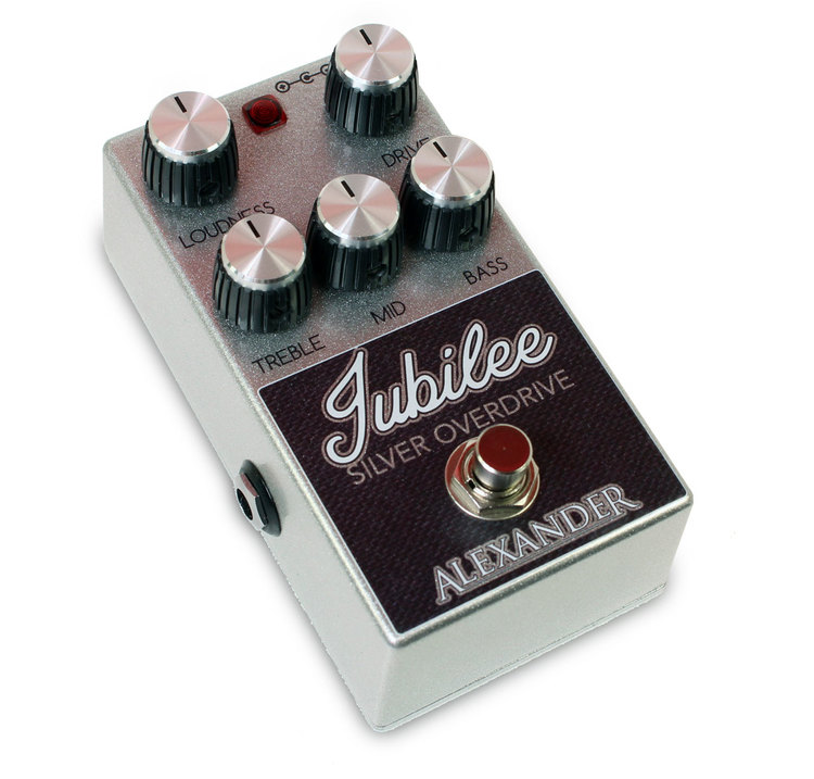 Alexander Pedals Silver Jubilee Overdrive