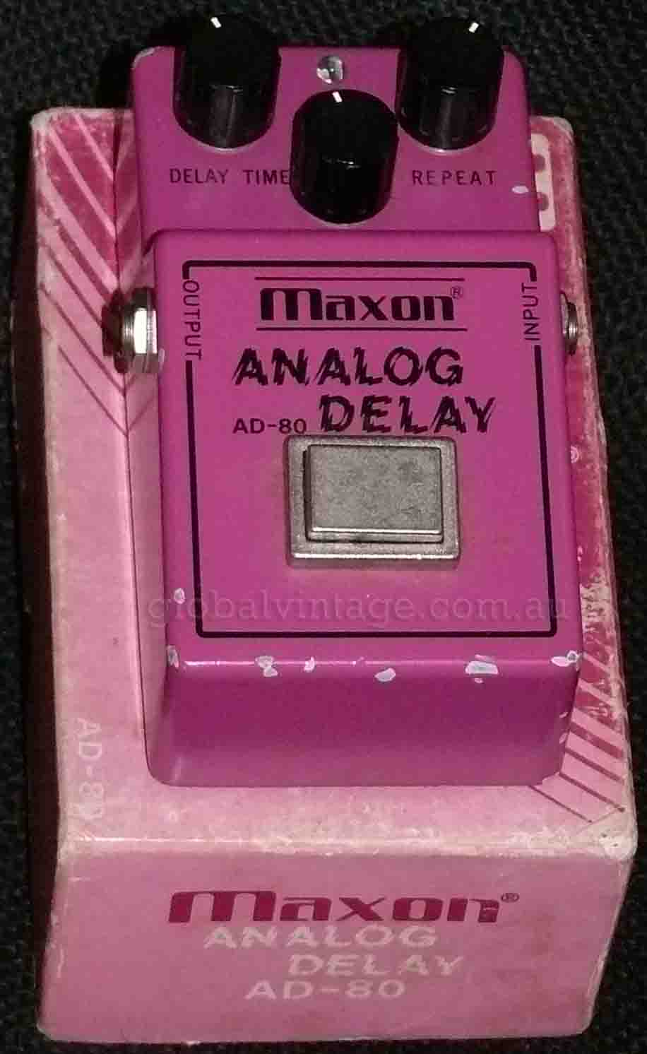 ~SOLD~Maxon Vintage AD-80 Analog Delay w/box
