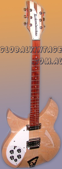 ~SOLD~Rickenbacker USA Model 330 MapleGlo lefty
