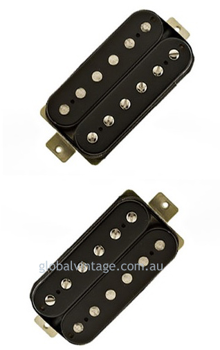 Lollar Imperial Humbucking set-black- 4 conductor