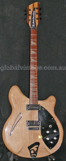 Rickenbacker U.S.A. `90 Model 360 MapleGlo