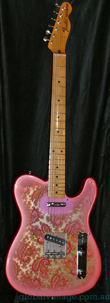 "~SOLD~Fender Japan M.I.J. ""A"" series Paisley Telecaster Reissue"