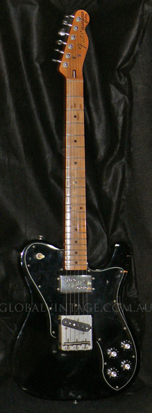 "~SOLD~Fender Japan M.I.J. ""A"" series `72 Telecaster Custom"