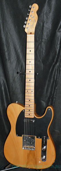 "Fender Japan M.I.J. ""A"" series `52 Telecaster Reissue"
