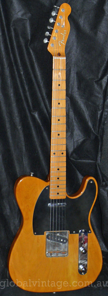 "~SOLD~Fender Japan M.I.J. ""A"" series `52 Telecaster Reissue TL52"