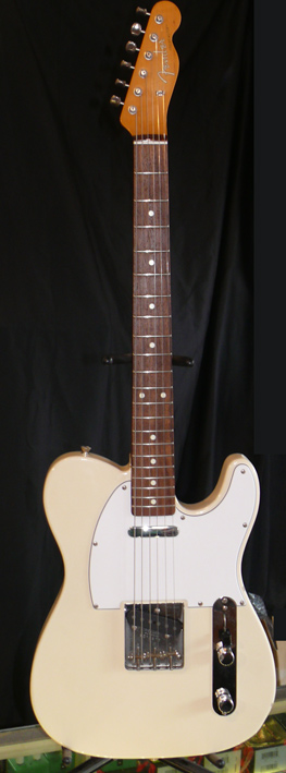 "Fender Japan C.I.J. ""A"" series `62 Telecaster issue."