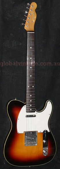 "~SOLD~Fender Japan M.I.J. ""A"" series `62 Telecaster Custom Reiss"