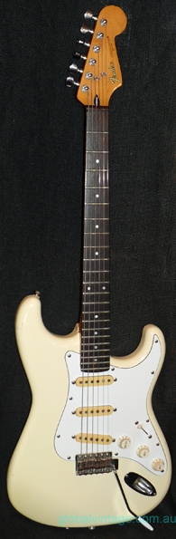 "Fender Japan MIJ ""E"" series Contemporary Stratocaster"