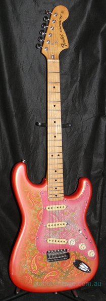 "~SOLD~Fender Japan M.I.J. ""E"" series `72 Paisley Stratocaster Re"