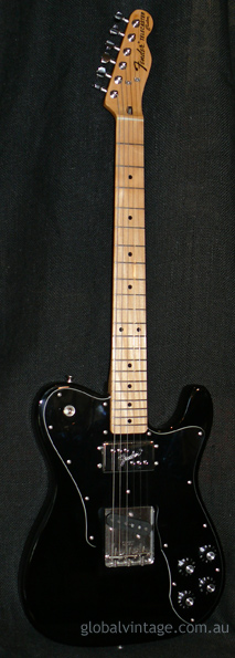 "~SOLD~Fender Japan M.I.J. ""E"" series `72 Telecaster Custom Reiss"