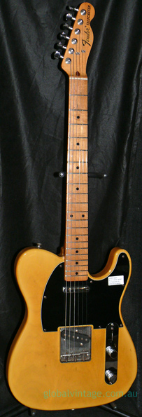 "Fender Japan M.I.J.""E"" series `72 Telecaster Reissue"