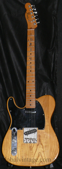 "Fender Japan M.I.J. ""E"" series `72 Telecaster R.I. LEFT HANDED T"