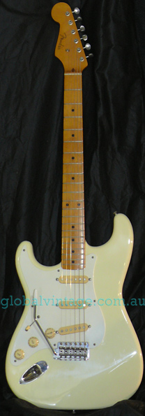 "~SOLD~ Fender Japan M.I.J. ""F"" series `57 Stratocaster R.I. LEFT"