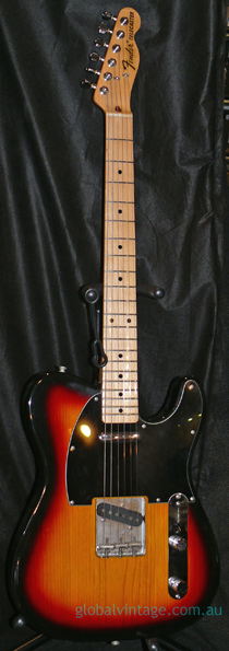 Fender Japan M.I.J. F series `72 Telecaster RI Sunburst