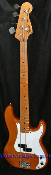 "~SOLD~Fender Japan M.I.J. ""H"" series `70 Precision Bass R.I. PB7"