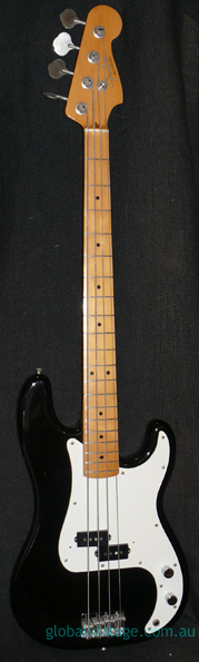 "Fender Japan M.I.J. ""J"" series `57 Precision Bass R.I."