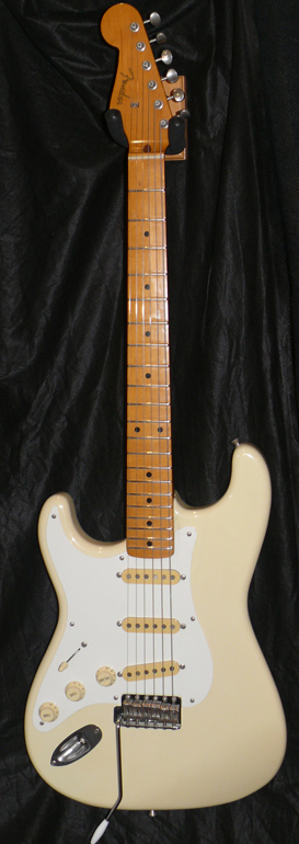 "Fender Japan M.I.J.""J"" series `57 Stratocaster R.I. Left Handed"