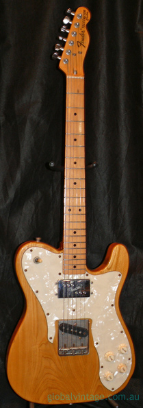Fender Japan MIJ J series Telecaster Custom Natural - Custom Ord