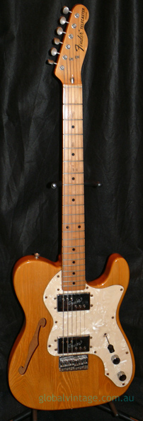 Fender Japan MIJ J series `72 Thinline Reissue TN72 Natural