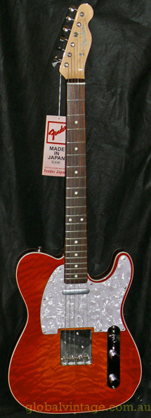 ~SOLD~Fender Japan N.O.S. `12 Limited Edition Quilt Top `62 Tele