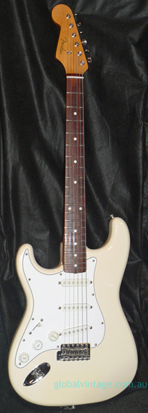 "Fender Japan M.I.J. ""N"" series `62 Stratocaster Reissue. LEFT HA"
