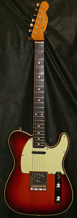 "Fender Japan M.I.J. ""N"" series `62 Telecaster Reissue - Bound Bo"